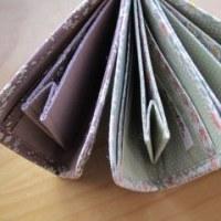 L字ファスナーお財布♪中を作っています!!
