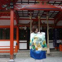 光ちゃんのお宮参り  (神戸市北区  塩田神社)