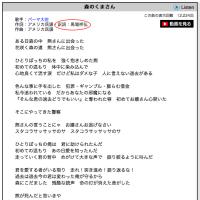 歌詞翻訳者が、森のくまさんの替え歌CD販売中止を要請!
