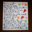 「ハートフル・ハート」の色紙 ありがとうございます!