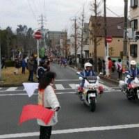 松戸七草マラソン観戦