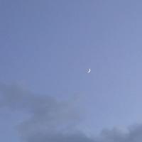 旧暦12月6日の月