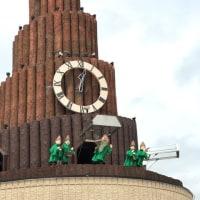 2017 北海道 道の駅温根湯温泉 ーー世界最大級のからくり時計 果夢林ーー