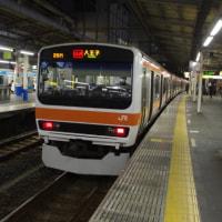 209系500番台M71編成むさしの号八王子行@大宮駅