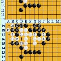 囲碁死活1019ー2 官子譜