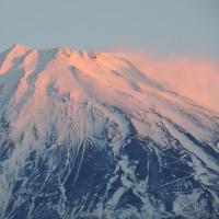 今朝の富士