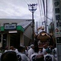 市川八幡神社の神輿