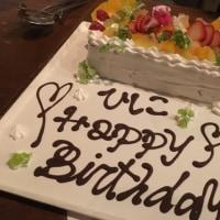 誕生日パーティ(๑˃̵ᴗ˂̵) 母66歳