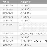 2017年ネット収入 【16,805円】 ゲットマネー累計100万円超!5