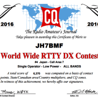 2016 WW DX CONTEST RTTY