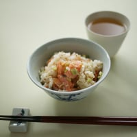 塩鮭の混ぜご飯