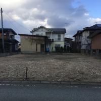 寒河江市若葉町の土地、売りに出ました。