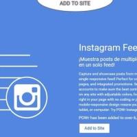 Instagram/インスタグラム投稿をホームページに自動表示させる