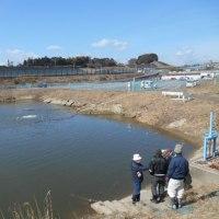 農業用水路点検の一日。