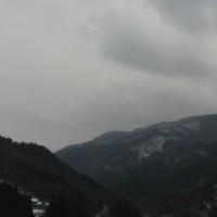 平成29年1月20日・今朝の東祖谷1.4℃