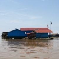 カンボジア・ベトナム旅行記(12)トンサレップ湖の水上都市ツアー