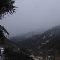 平成29年1月22日・今朝の東祖谷-1.5℃