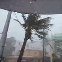 10月16日 サイパンは台風25号にどっぷりです・・・。←サイパン・メイダイブ1968発信♪