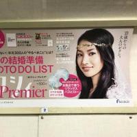 5月24日(水)のつぶやき:芦名星 ゼクシィ Premier SUMMER 2017(電車マド上広告)