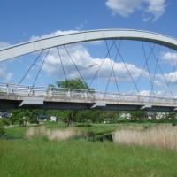 歩行者専用の中津川橋
