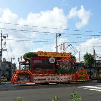 花電車に遭遇( v^-゜)♪
