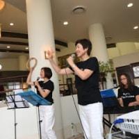 太宰府市にある介護施設でコンサート