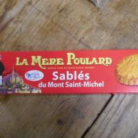 モン・サン・ミッシェルの老舗レストラン名物のサブレなんだそうで