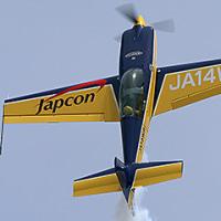 多度津フェスティバル(香川)でウィスキーパパがアクロ飛行