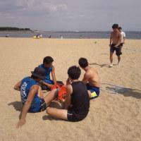 シーズン中の芦屋浜