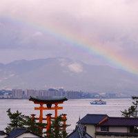 宮島・厳島神社初詣 170109
