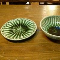 織部皿、鉢など