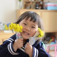 3歳  初登園Ⅱ〜桜とともに