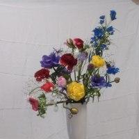 ルドンの花の絵