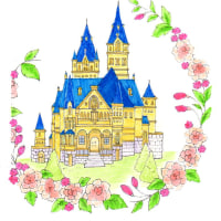 ロマンチックな西洋風のお城です