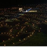 鴨川棚田の夜祭り