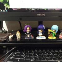 机の上が賑やかになった