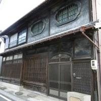 三重県郵便局訪問 NO.3 津市・鈴鹿市・四日市市 旧伊勢街道を古い建物を眺め、楽しんで歩きました。