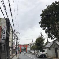 10/25 一転して雨模様の伏見桃山