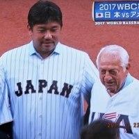 2017 WBC準決勝TV観戦、野茂投手(1/4)