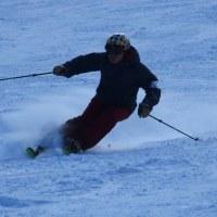 お正月実家でスキー