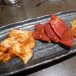 大栄閣の焼肉で夕食。