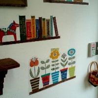 壁を彩る雑貨達