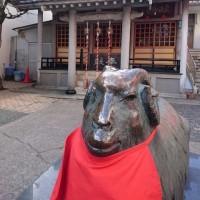 未年の神社
