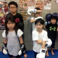 2017.5.22 少年部キッククラス、今日の練習