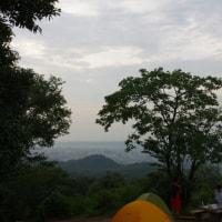 多峯主山の朝