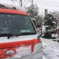 『観測史上初:都心で積雪』