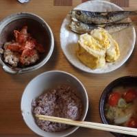 朝ご飯 鰯の一夜干し