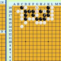 囲碁死活1006官子譜