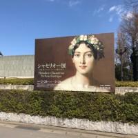 国立西洋美術館に「シャセリオー展」に行ってきました。特徴として、ロマン派らしく、目が優しく描かれている。そしてなんと言っても「カバリュス嬢」が美しすぎる。