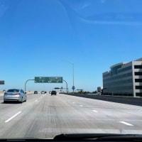 freeway 105 と 405 の分岐